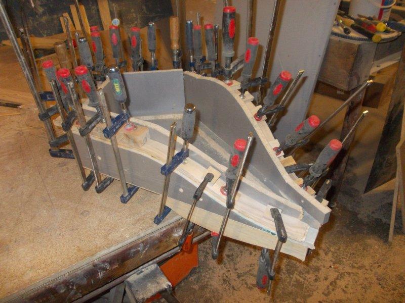 Изготовление рамы для деревянного мотоцикла
